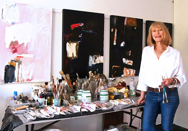Sylvia McEwan in the Studio | Yellowtrace