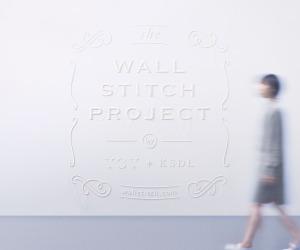 Wallstitch by YOY   Yellowtrace