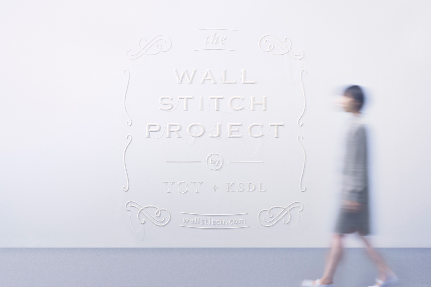 Wallstitch by YOY | Yellowtrace