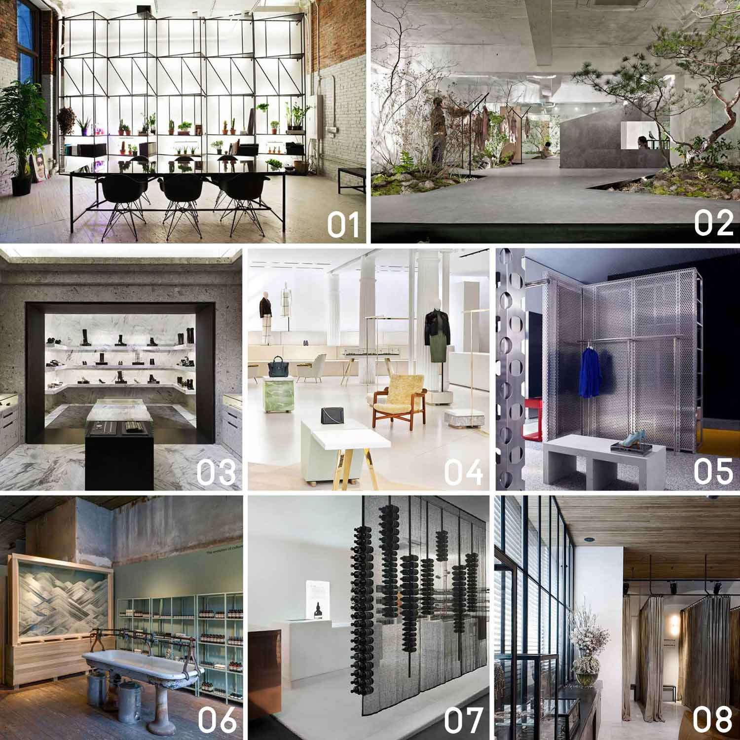 Commercial retail interior design 2014 yellowtrace for Retail interior design
