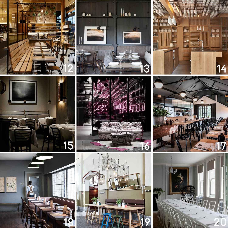 Hospitality & Restaurant Interior Design 2014 Archives | Yellowtrace