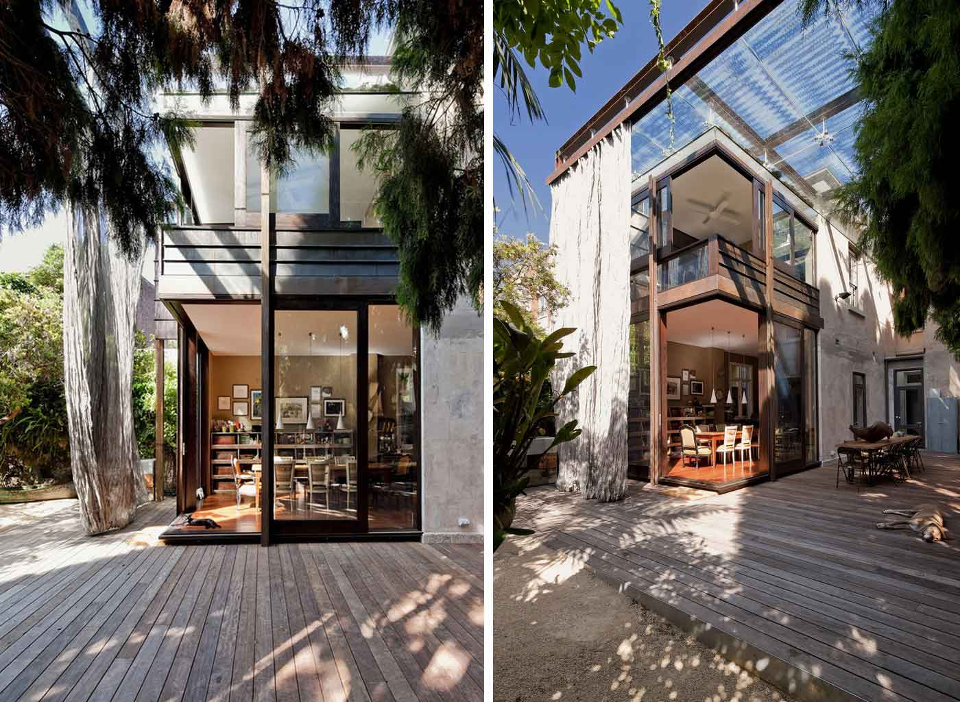 Glass Loggia House by Allen Jack+Cottier Architects | Yellowtrace