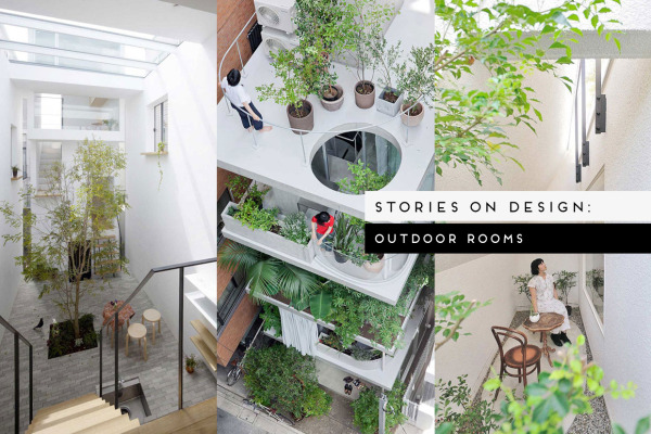 Outdoor Rooms, Curated by Yellowtrace