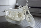 3D Printed Motorcycle Sculptures by Jonathan Brand | Yellowtrace