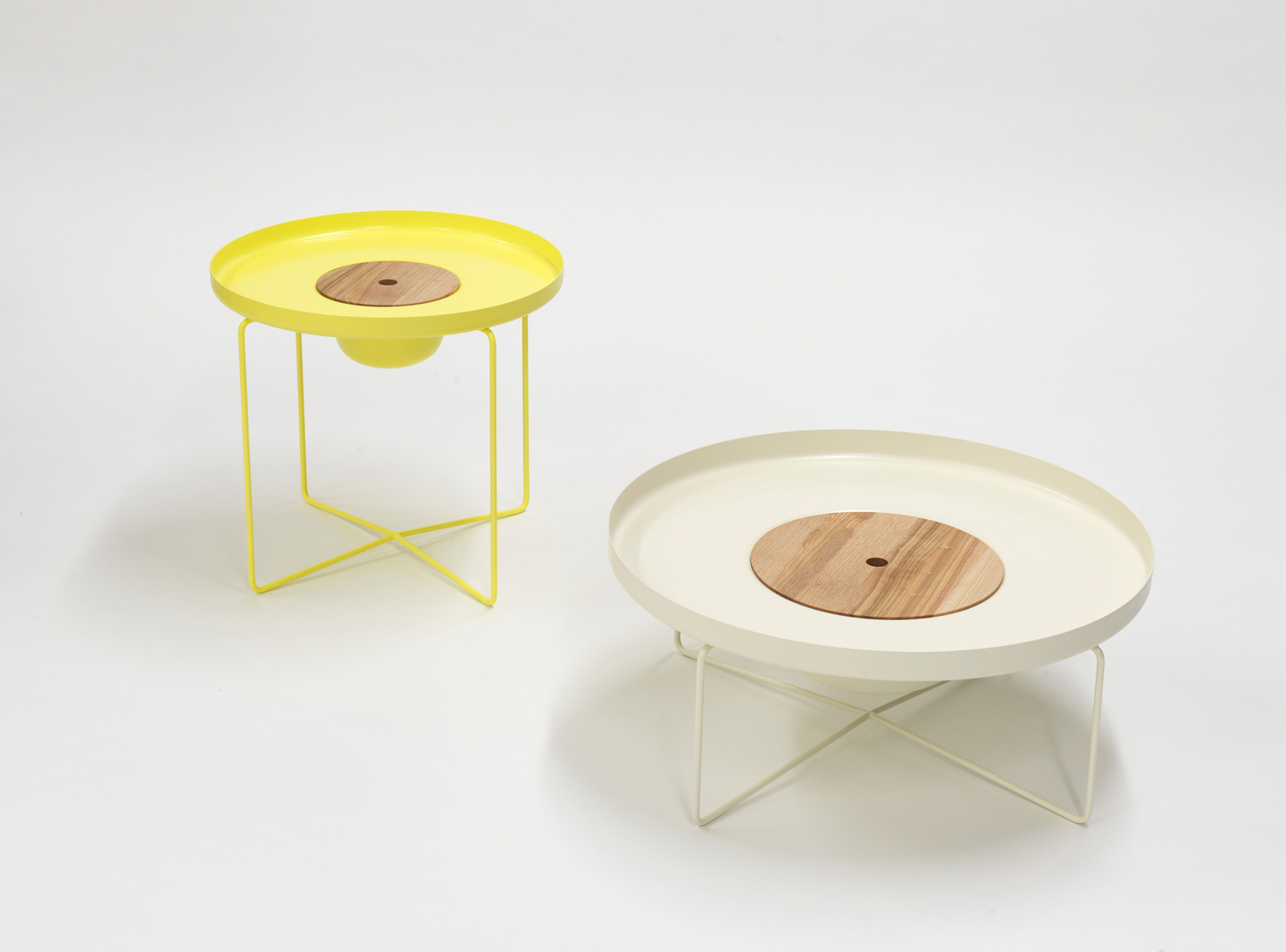 Table & Bowl by Aust & Amelung, part of Objects in between Exhibition at IMM Cologne 2015 | Yellowtrace