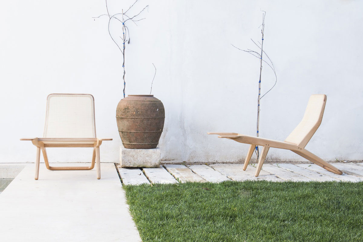 Barca Lounge Chair from Branca Lisboa at IMM Cologne 2015 | Yellowtrace