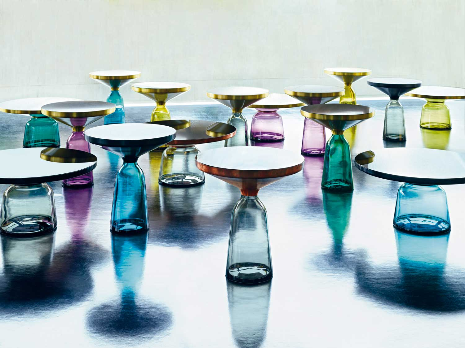 Bell Table by Sebastian Herkner for Classicon at IMM Cologne 2015 | Yellowtrace