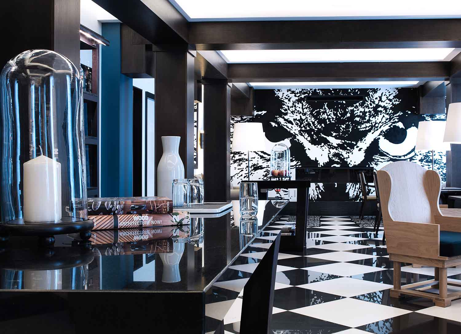 Chess hotel paris by gilles boissier yellowtrace for Designhotel paris