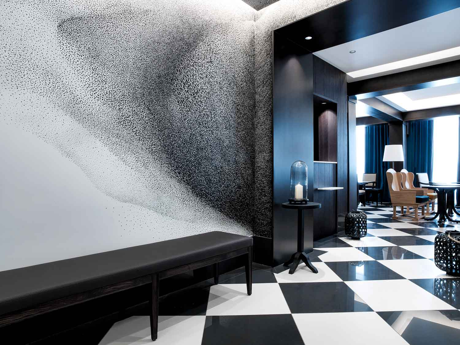 Chess hotel paris by gilles boissier yellowtrace for Hotel design paris 6