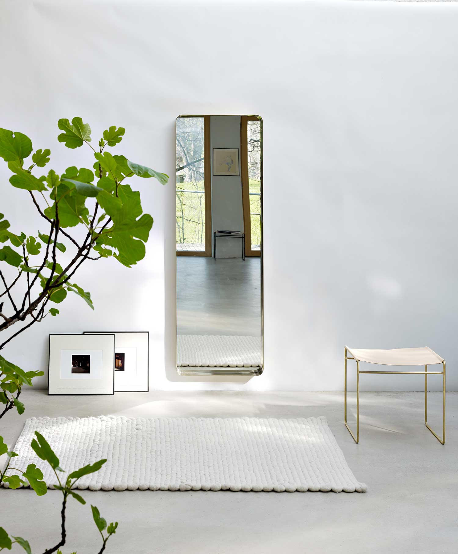 Cypris Mirror by Nina Mair at IMM Cologne 2015 | Yellowtrace