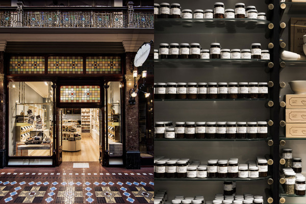 Gewürzhaus Herb & Spice Merchants in Sydney & Melbourne by Doherty Design Studio | Yellowtrace