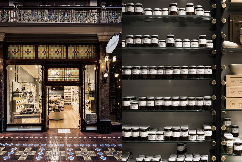 Gewürzhaus Herb & Spice Merchants in Sydney & Melbourne by Doherty Design Studio | Yellowtrace