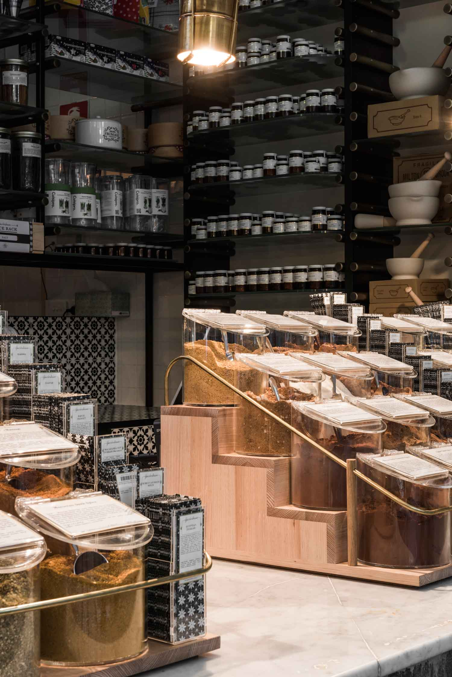 Gewurzhaus Merchants Stores By Doherty Design Studio