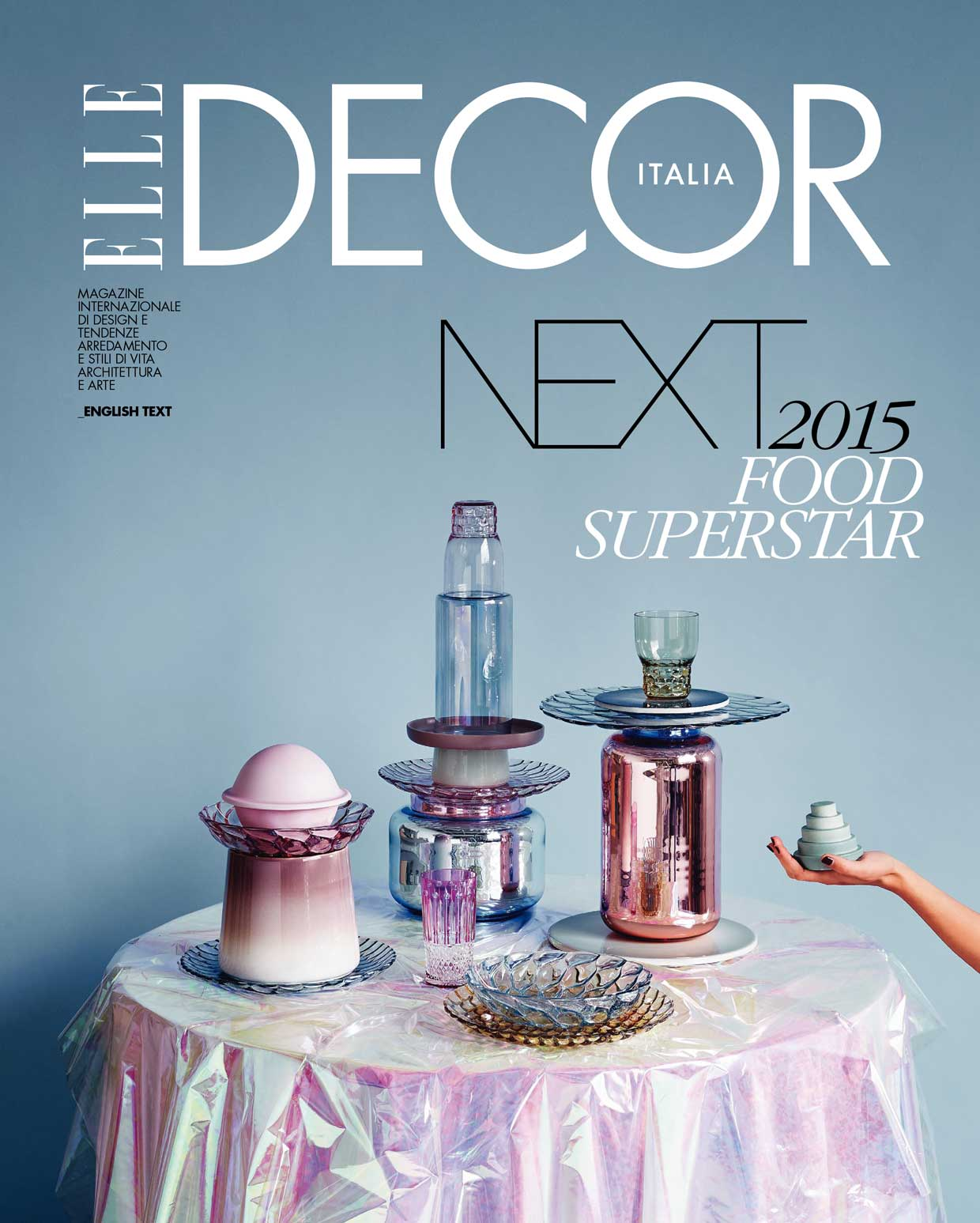 Elle Decor Italia February 2015 Cover NEXT | Yellowtrace