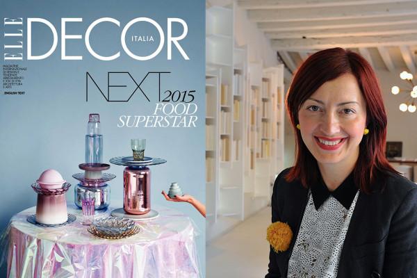 Elle Decor Italia February Cover / Dana Tomic Hughes   Yellowtrace