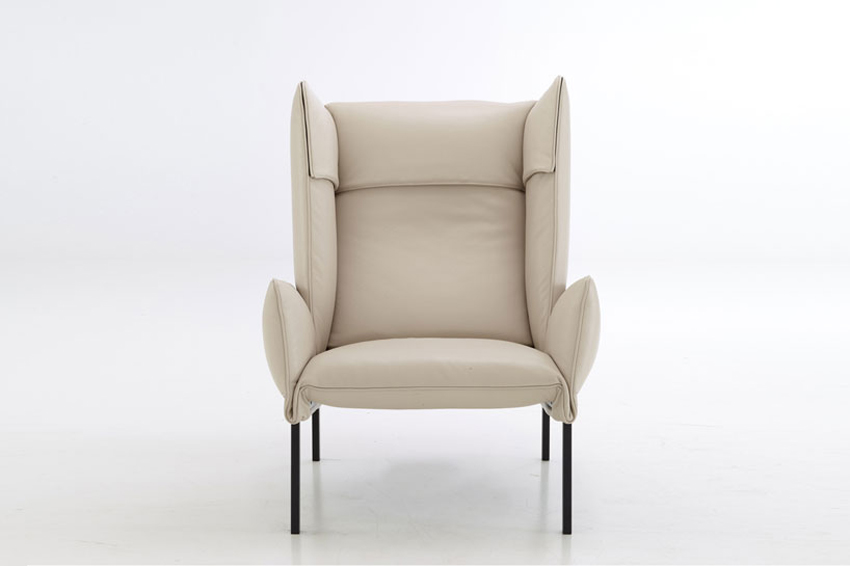 'Beau Fixe' Armchair by Inga Sempé for Ligne Roset at IMM Cologne 2015 | Yellowtrace