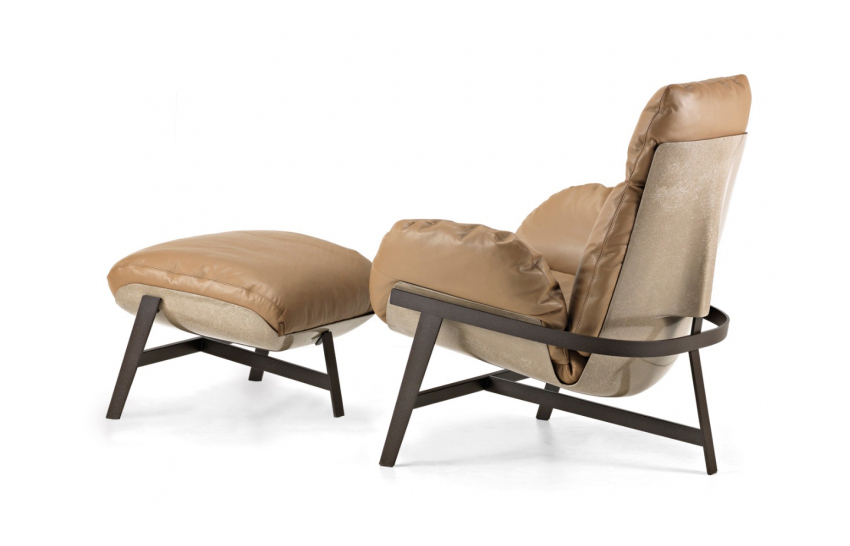 Jupiter Armchair by Mauro Lipparini for Arketipo at IMM Cologne 2015 | Yellowtrace