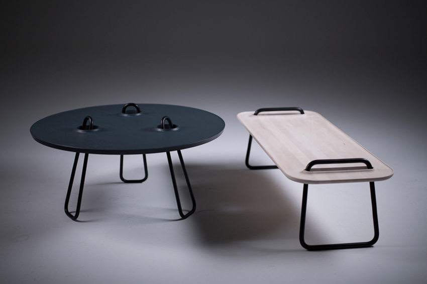 Kahawa Tables for Artisan at IMM Cologne 2015 | Yellowtrace