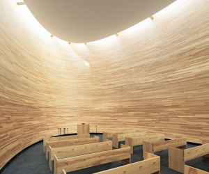 Kamppi Chapel Finland by K2S Architects | Yellowtrace