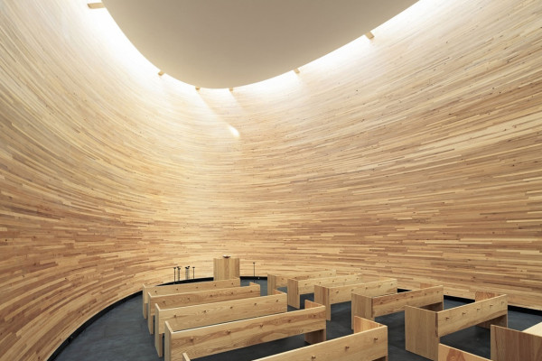 Kamppi Chapel Finland by K2S Architects | Yellowtrace