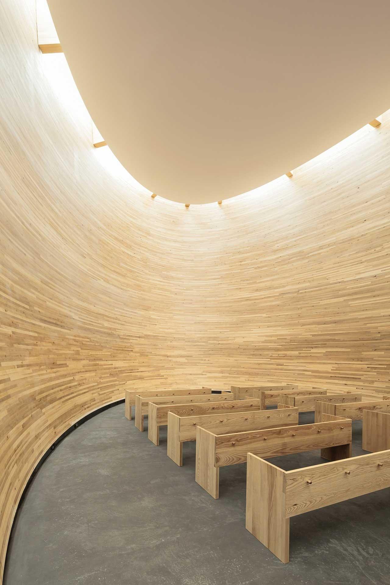 Kamppi Chapel of Silence in Helsinki by K2S Architects | Yellowtrace