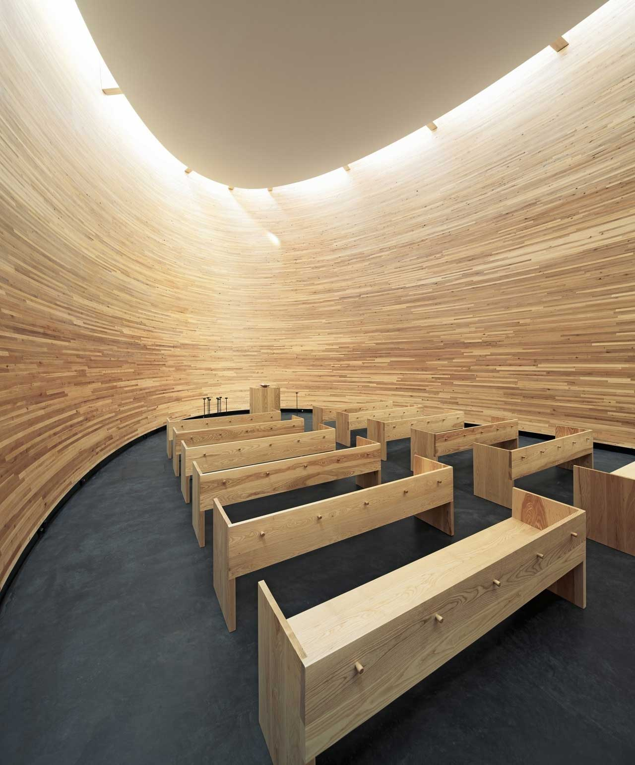 Kamppi Chapel by K2S Architects | Yellowtrace
