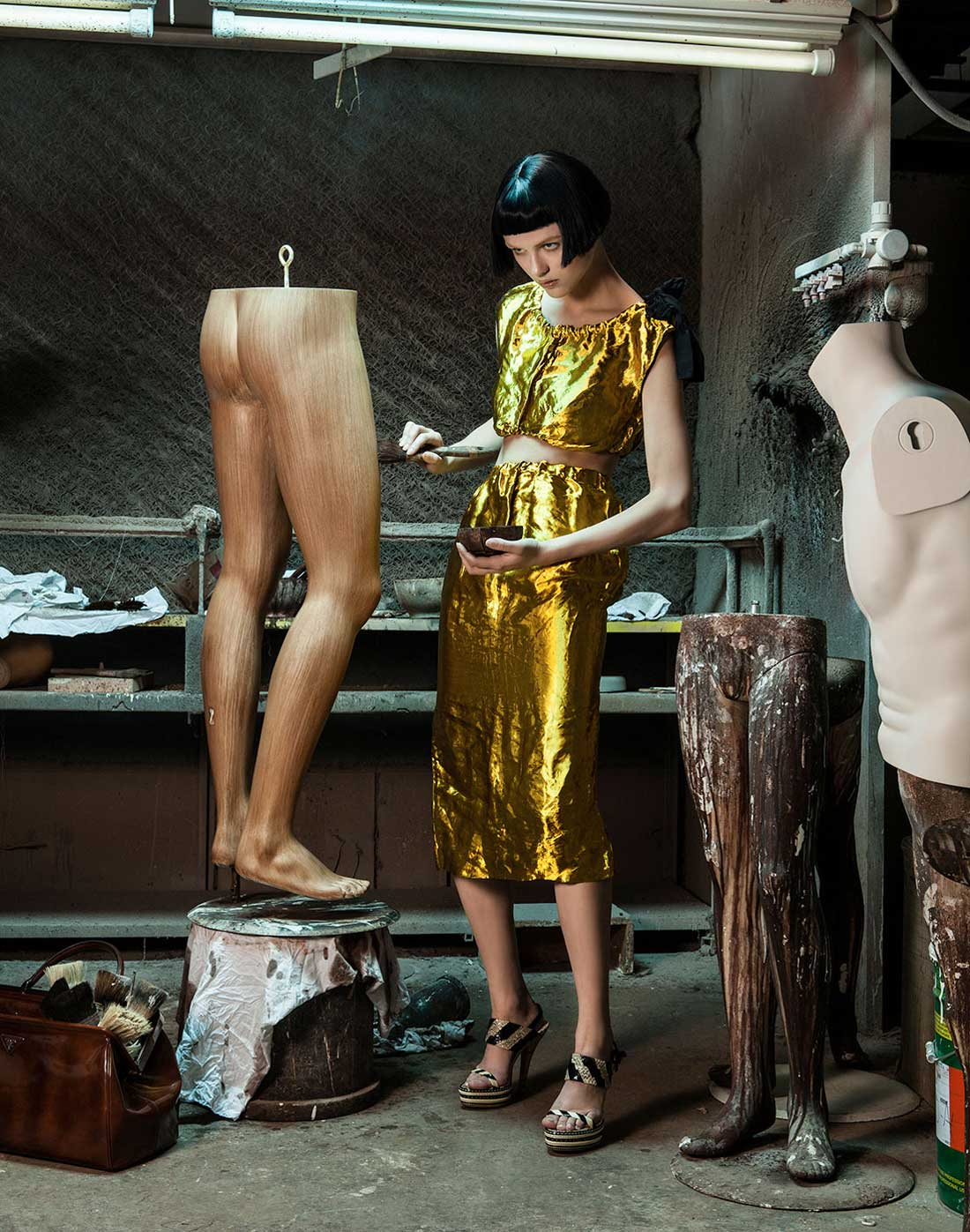 Morphosis Prada Archive Shot by Lucia Giacani | Yellowtrace