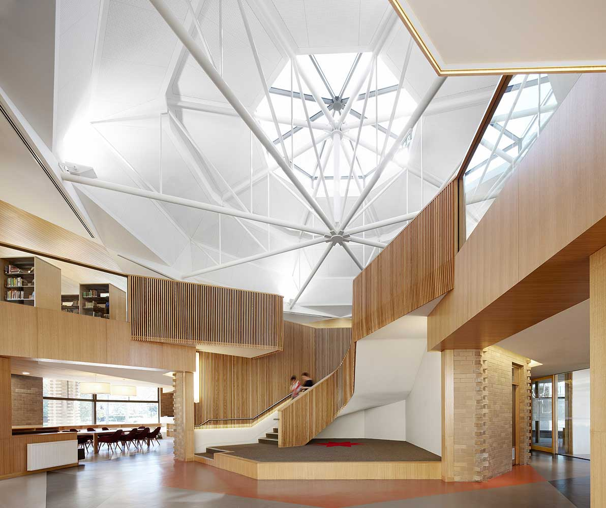 Ormond College Library by McGlashan Everist. Peter Clarke Photography | Yellowtrace