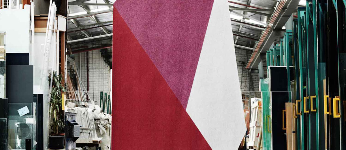 'Shard' Rug Collection by Fiona Lynch | Yellowtrace