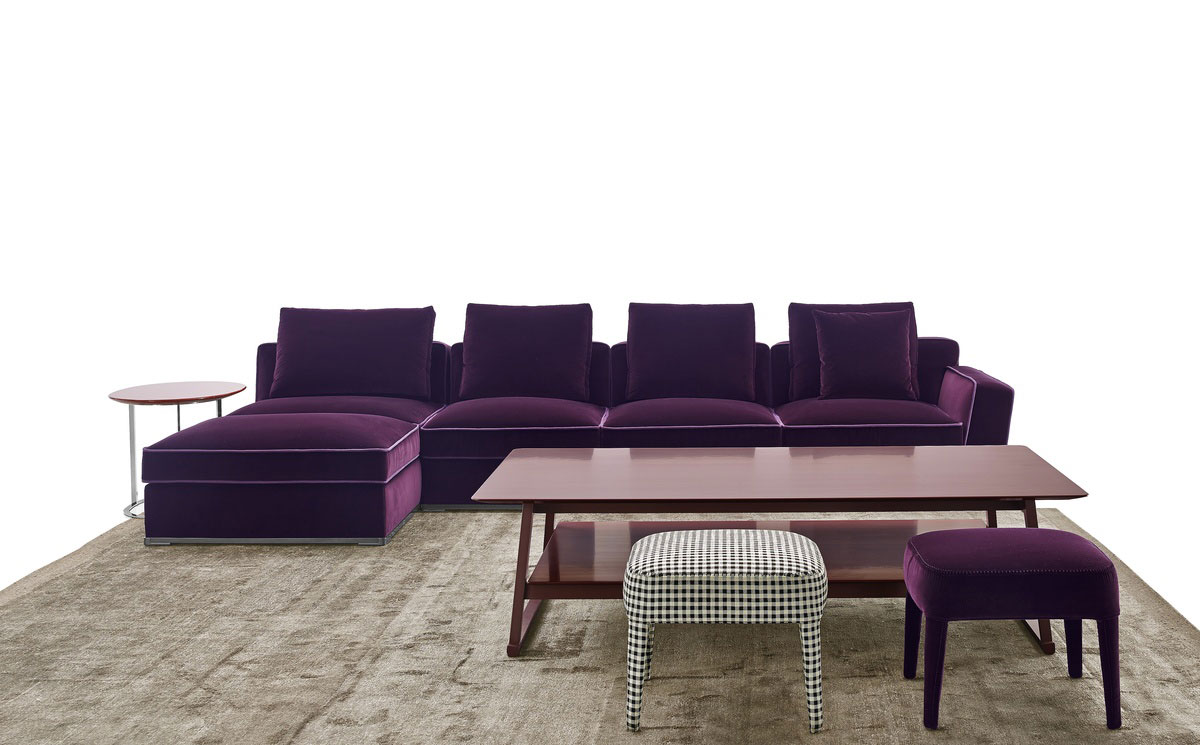 Solatium Seating System from B&B Italia at IMM Cologne 2015 | Yellowtrace