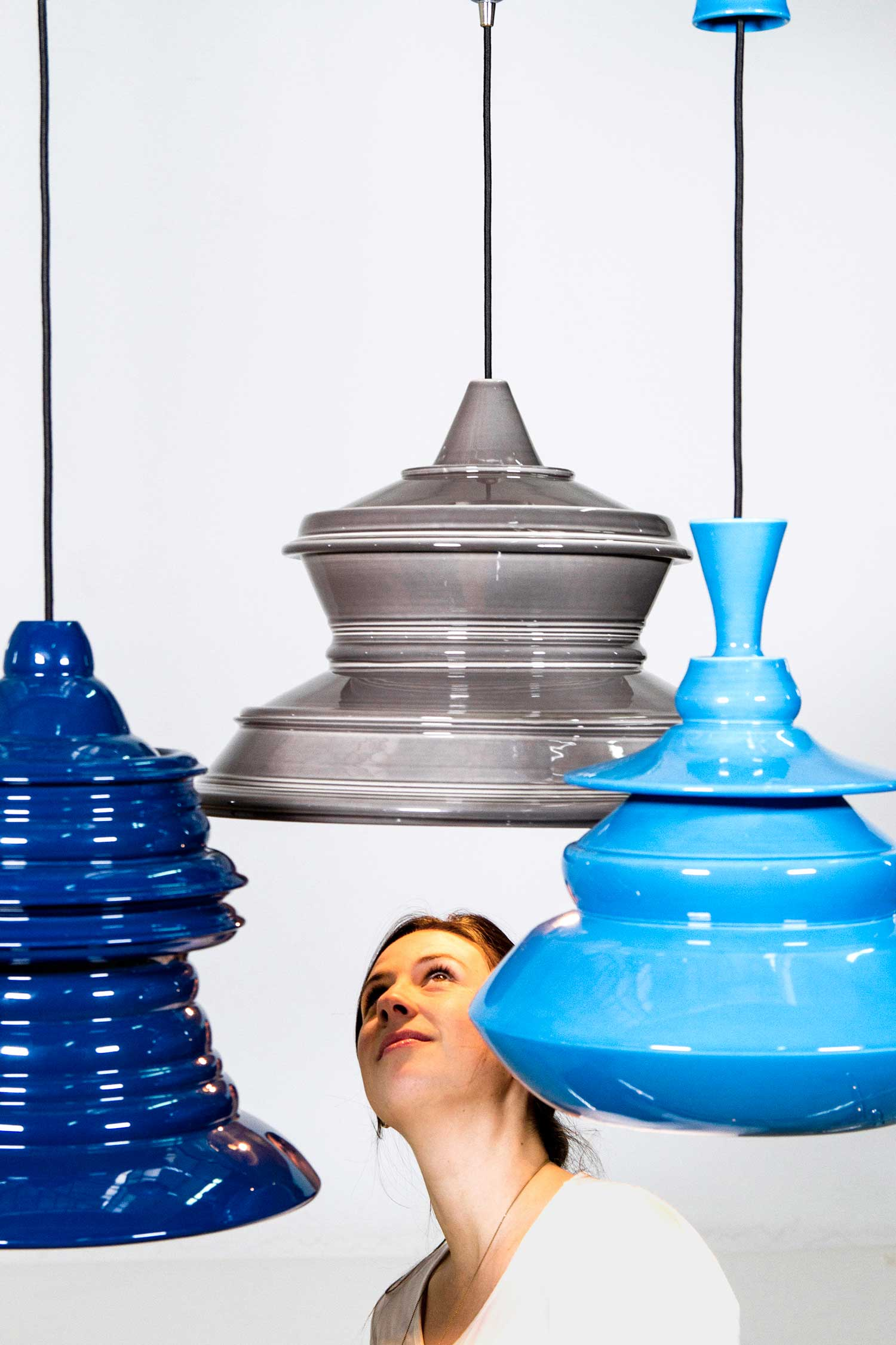 Solid Spin Lamps Collection by Johanna Tammsalu | Yellowtrace
