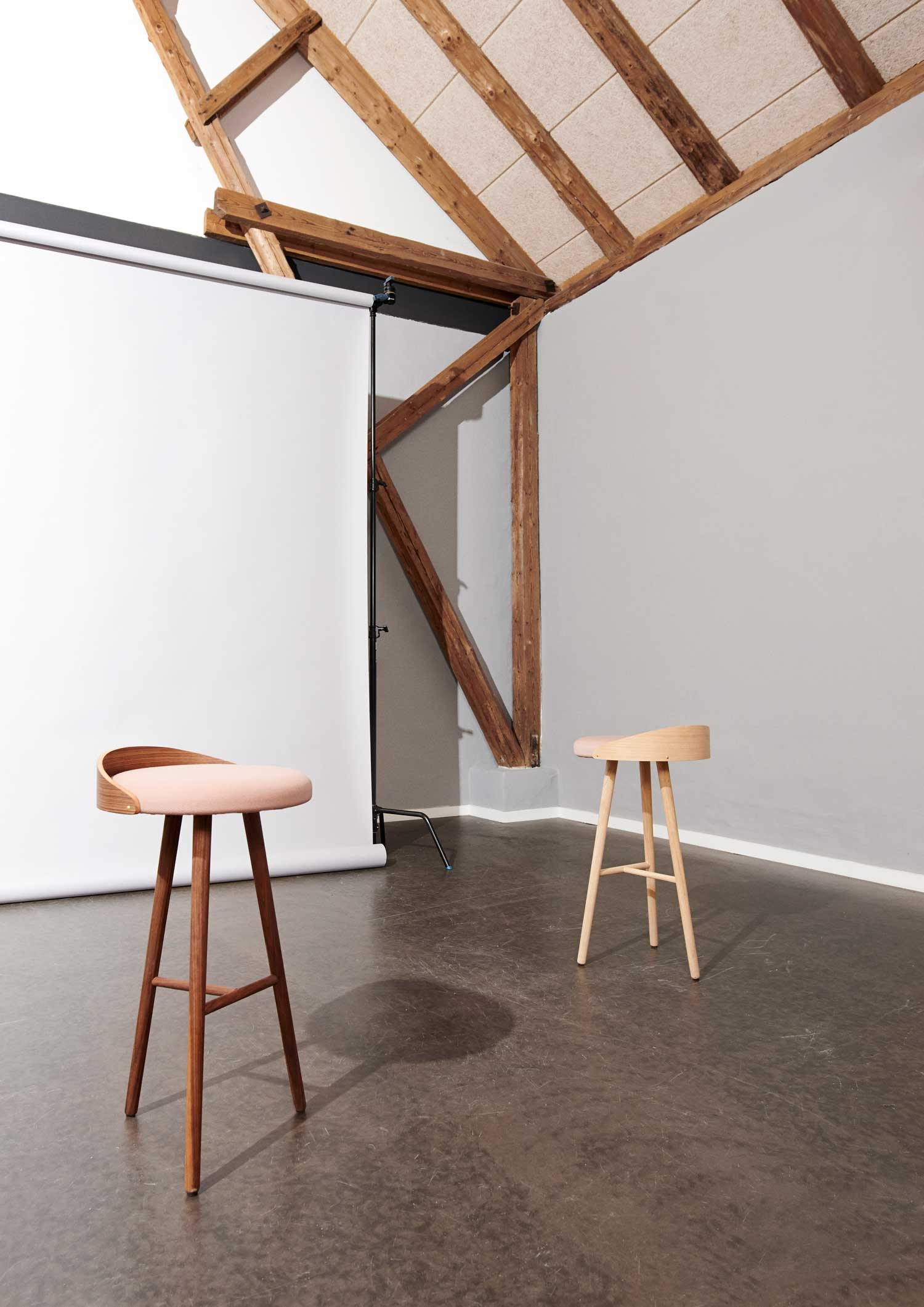 Alma Bar Stool by Louise Mengel at Stockholm Design Week 2015 | Yellowtrace