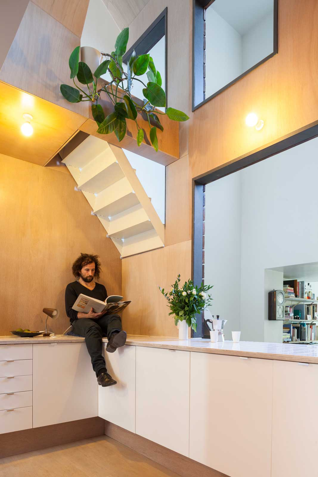 Tijl and Indra in Ghent, Belgium by Atelier Vens Vanbelle | Yellowtrace