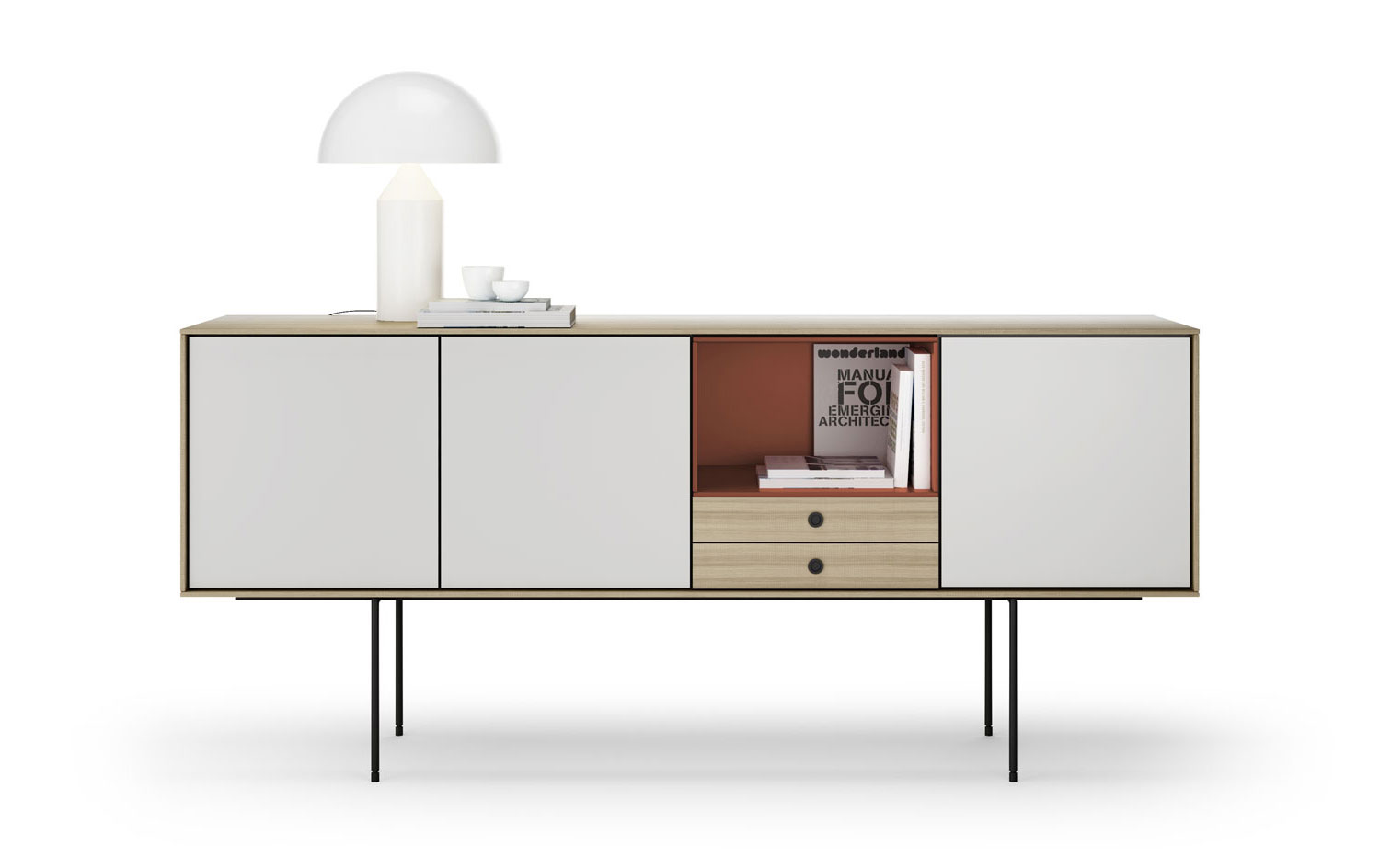 Aura Sideboard by Angel Marti & Enrique Delamo for Treku at Maison & Objet 2015 | Yellowtrace