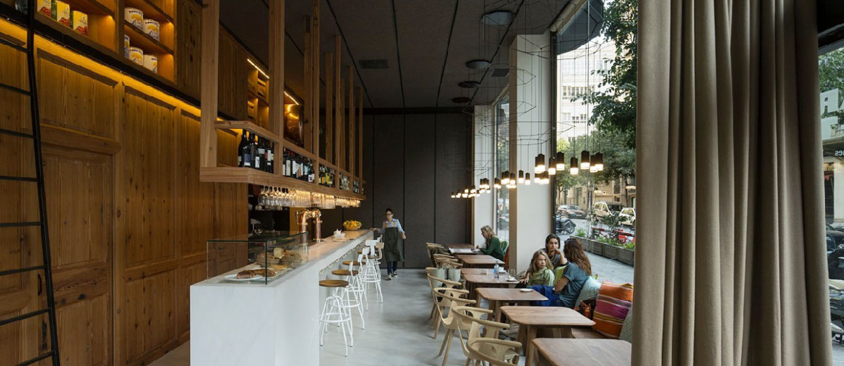 Barton Restaurant Barcelona by Isabel Lopez Vilalta | Yellowtrace