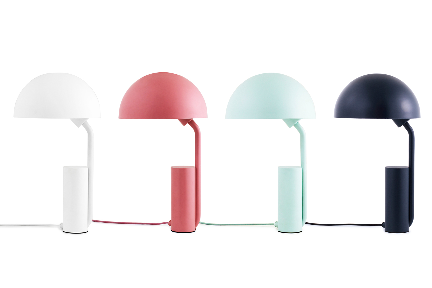 Cap Table Lamp by Kaschkasch for Normann Copenhagen at Stockholm Design Week 2015 | Yellowtrace