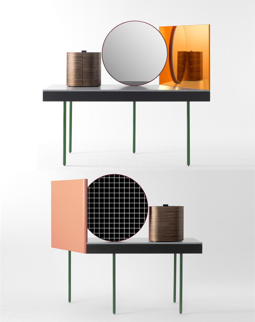 Chandlo dressing table by Doshi Levien for BD Barcelona | Yellowtrace
