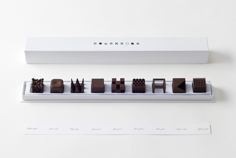 Chocolatexture Lounge by Nendo at Maison & Objet 2015 | Yellowtrace