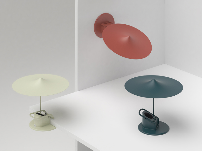 Clamp Lamp by Inga Sempe for Wastberg Lighting at Stockholm Design Week 2015 | Yellowtrace
