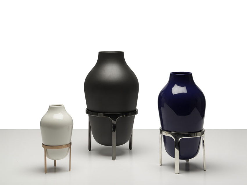 Titus Vases by Jaime Hayon for Paola C at Maison & Objet 2015 | Yellowtrace