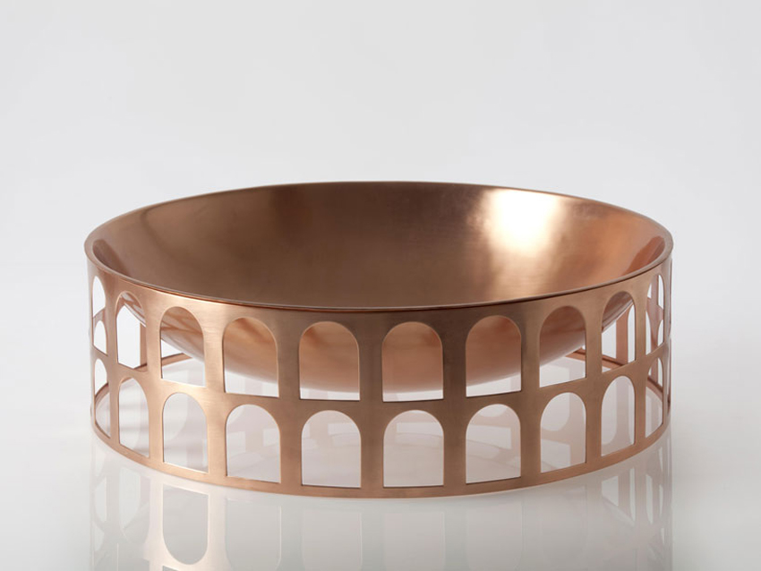 Colosseum Bowl by Jaime Hayon for Paola C at Maison & Objet 2015 | Yellowtrace