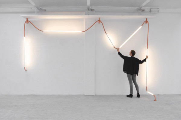 Copper Mono Light by Os and Oos | Yellowtrace