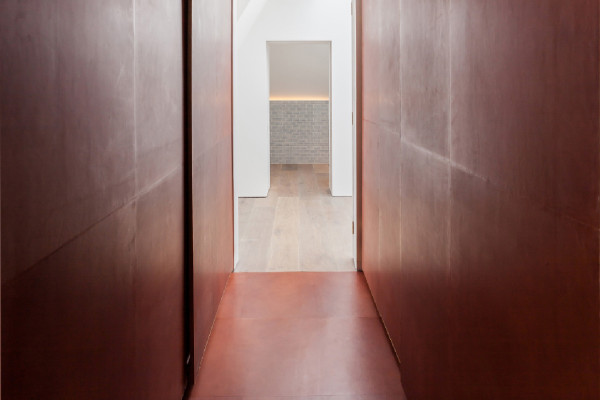 Dressing Room Lined in Leather by Simon Astridge | Yellowtrace