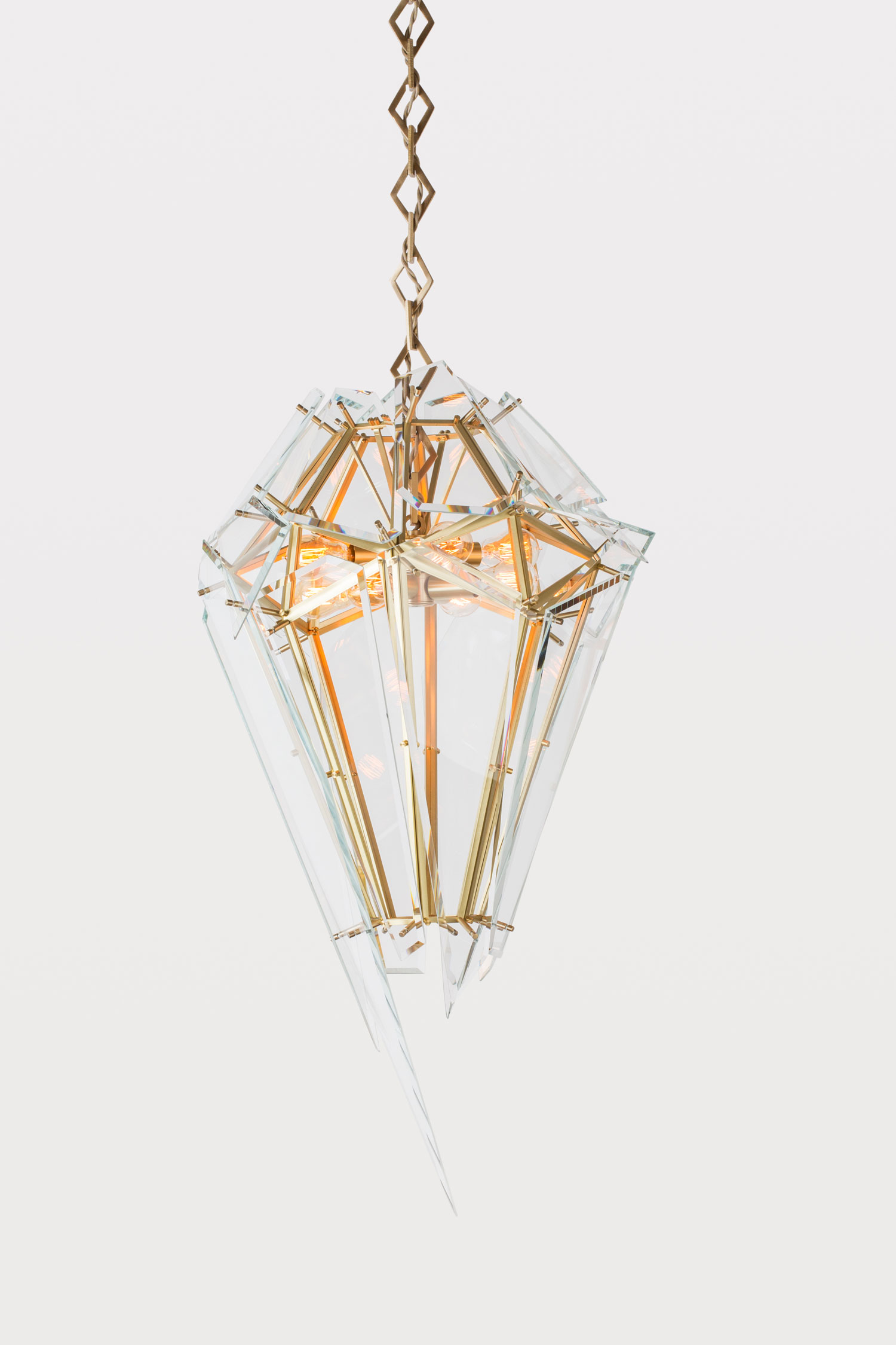 Edie Chandelier by Mary Wallis for Lindsey Adelman Studio | Yellowtrace