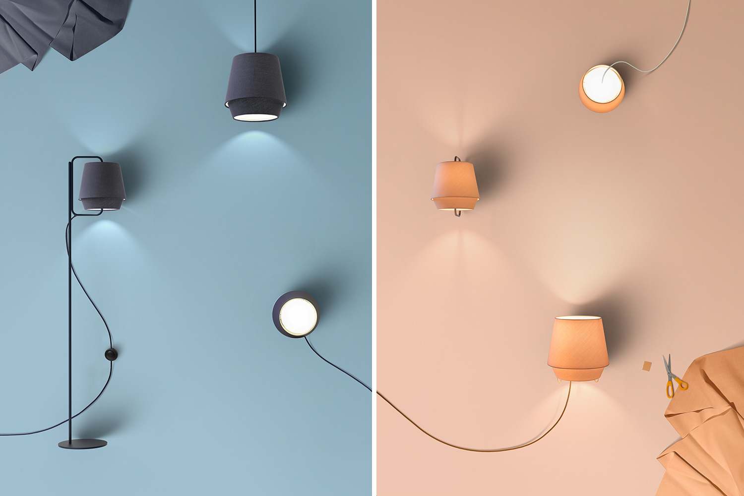 Elements Light by Note Design Studio for Zero Lighting at Stockholm Design Week 2015 | Yellowtrace