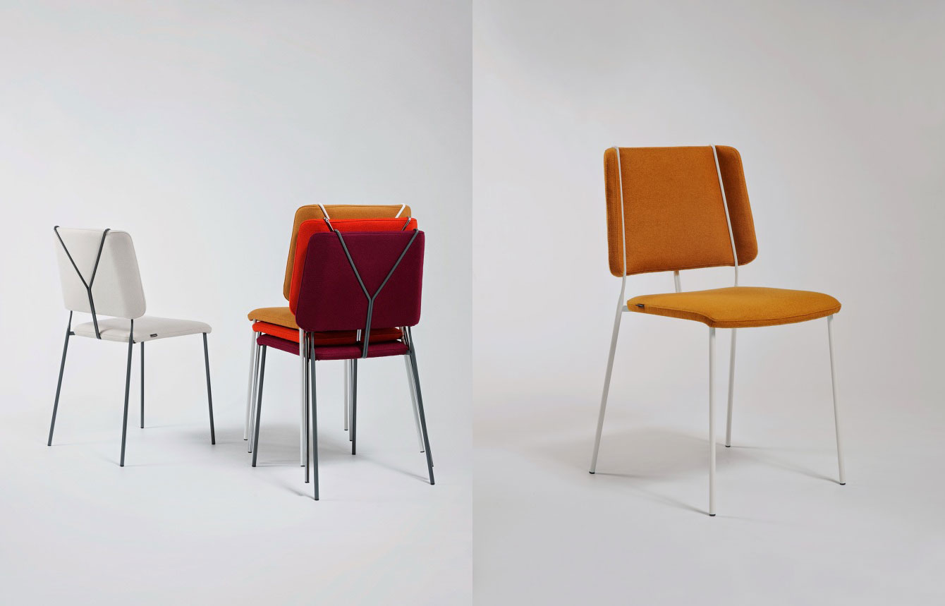 Frankie Chair at Stockholm Design Week 2015 | Yellowtrace