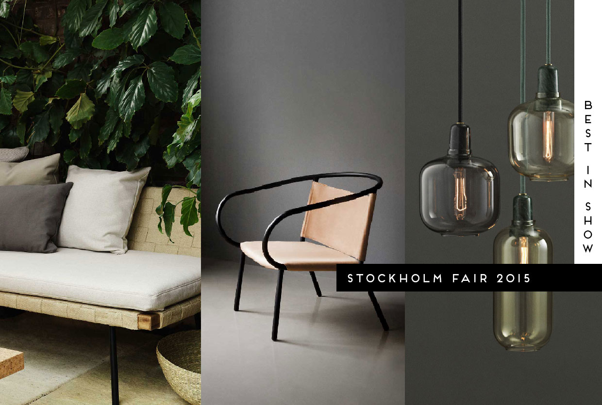 Stockholm Furniture Fair 2015 Best In Show Furniture Lighting  # Le Corner Meuble Tv Blanc Led Hi Fi Integre
