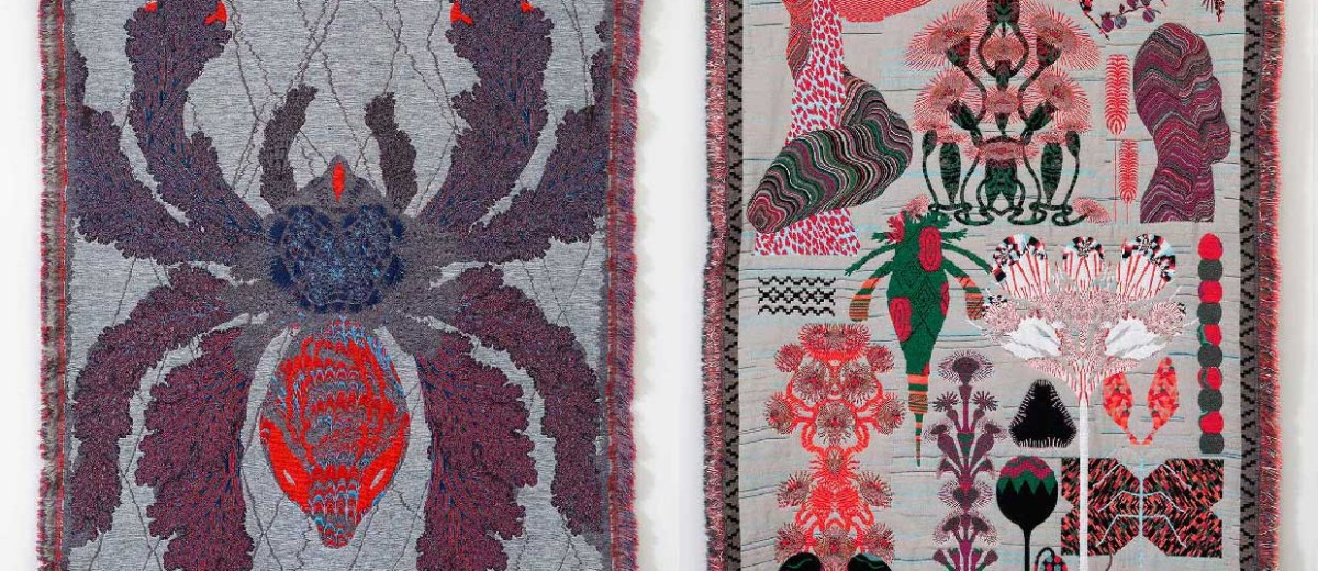 'Hypnopompic' Rug Collection & Psychedelic Prints by Kustaa Saksi | Yellowtrace