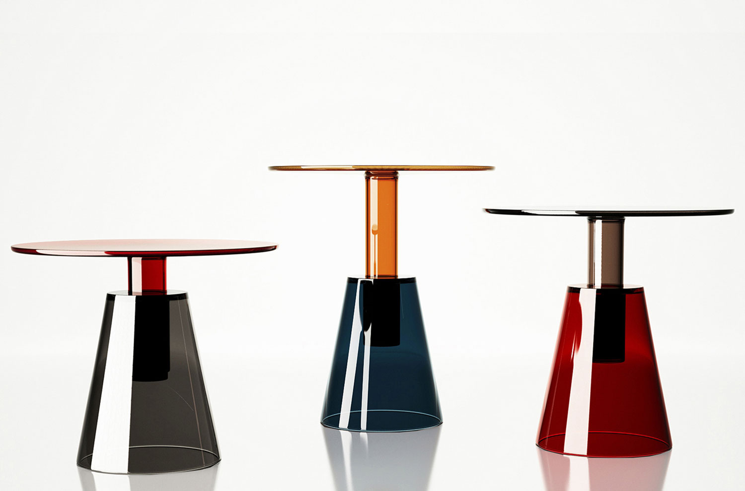 ILIA Low Tables by Christophe Pillet for ENNE at Maison & Objet 2015 | Yellowtrace