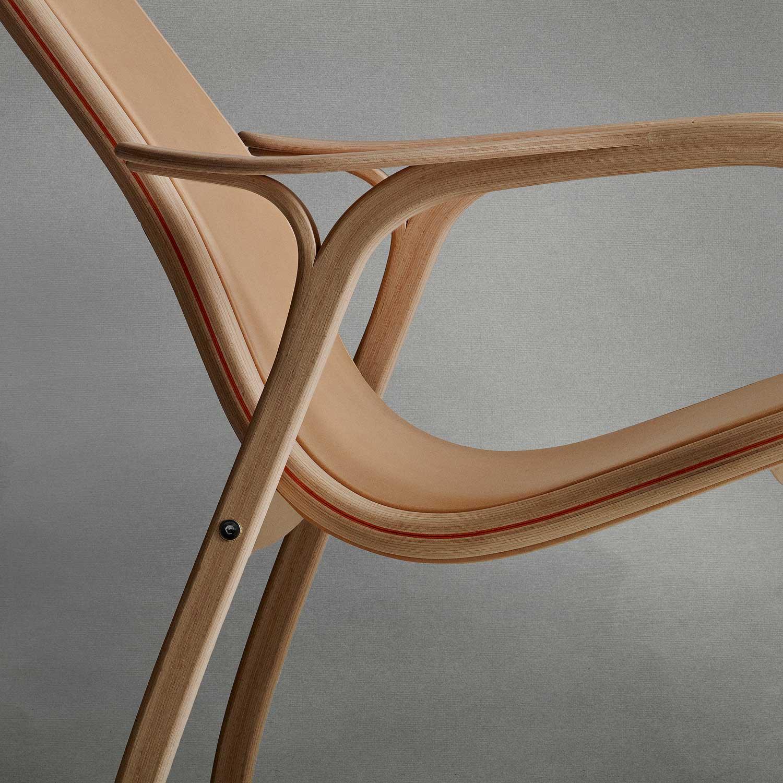 Swedese Lamino Chair Gets Reinterpreted by Nudie Jeans